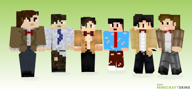 11th doctor Minecraft Skins - Best Free Minecraft skins for Girls and Boys