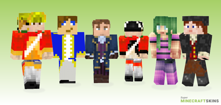 18th Minecraft Skins - Best Free Minecraft skins for Girls and Boys