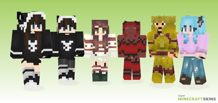 5th Minecraft Skins - Best Free Minecraft skins for Girls and Boys