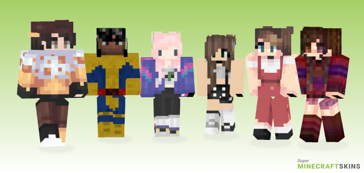 90s Minecraft Skins - Best Free Minecraft skins for Girls and Boys