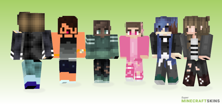 About Minecraft Skins - Best Free Minecraft skins for Girls and Boys