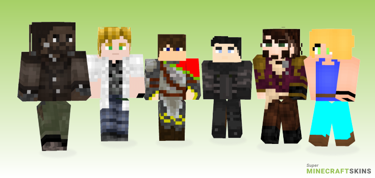 Adrian Minecraft Skins - Best Free Minecraft skins for Girls and Boys