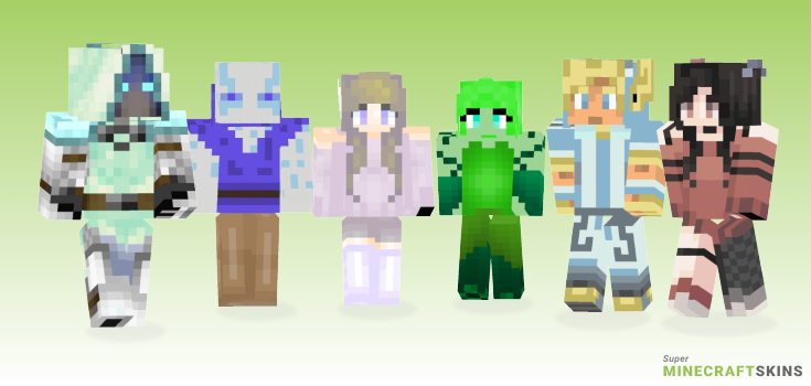 Aer Minecraft Skins - Best Free Minecraft skins for Girls and Boys