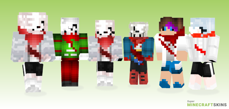Aftertale Minecraft Skins - Best Free Minecraft skins for Girls and Boys