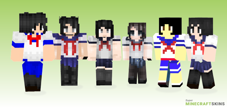 Aishi Minecraft Skins - Best Free Minecraft skins for Girls and Boys