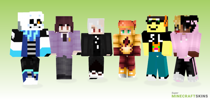 Aka Minecraft Skins - Best Free Minecraft skins for Girls and Boys