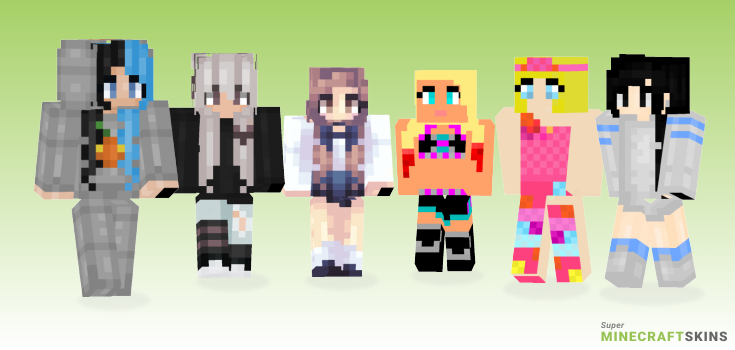 Alexa Minecraft Skins - Best Free Minecraft skins for Girls and Boys