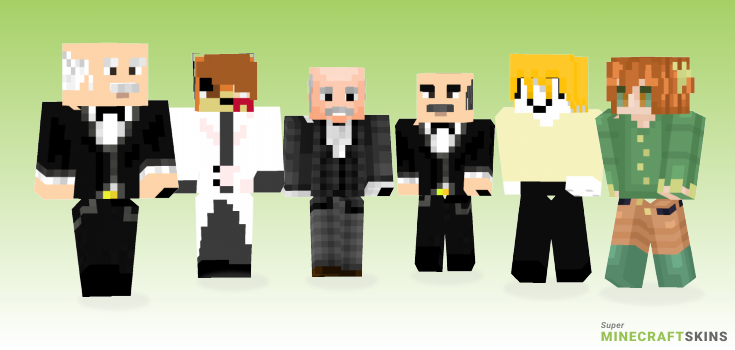 Alfred Minecraft Skins - Best Free Minecraft skins for Girls and Boys