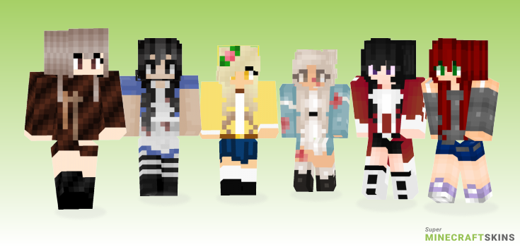 Alice Minecraft Skins - Best Free Minecraft skins for Girls and Boys