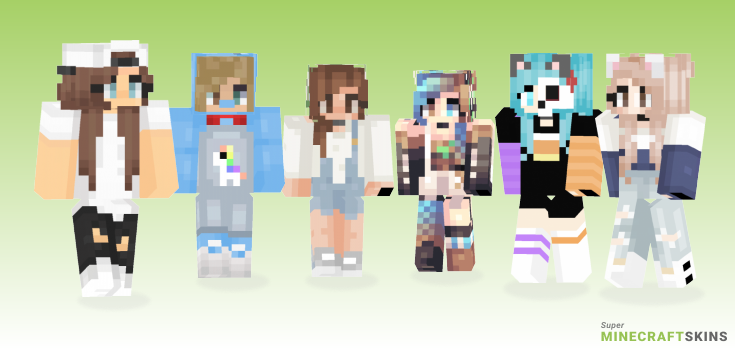 Almost Minecraft Skins - Best Free Minecraft skins for Girls and Boys