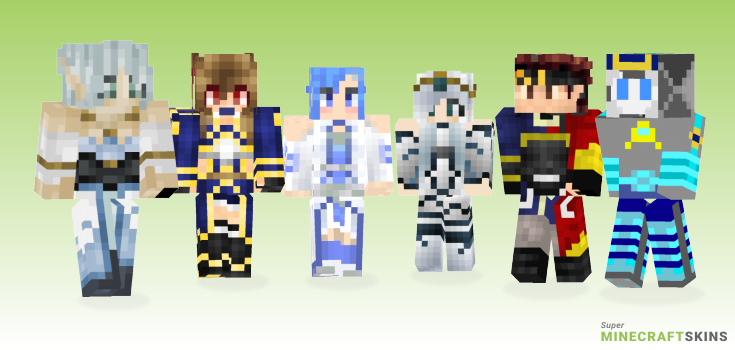 Alo Minecraft Skins - Best Free Minecraft skins for Girls and Boys