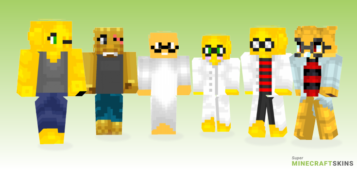 Alphys Minecraft Skins - Best Free Minecraft skins for Girls and Boys