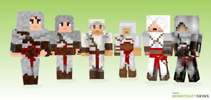 Altair Minecraft Skins - Best Free Minecraft skins for Girls and Boys