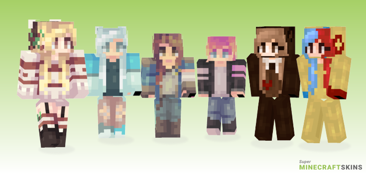 Alts Minecraft Skins - Best Free Minecraft skins for Girls and Boys