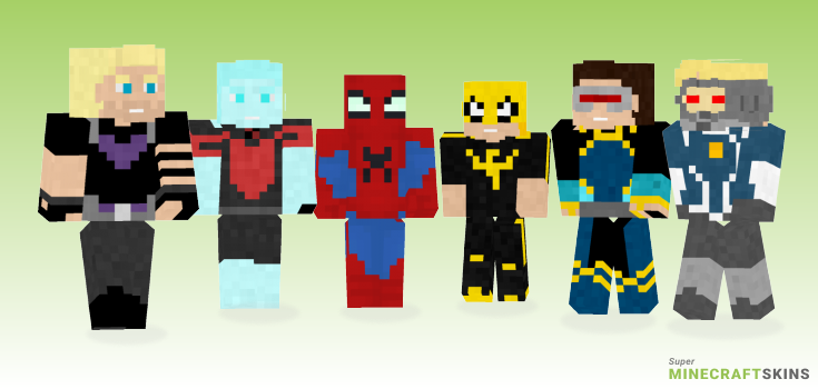 Anad Minecraft Skins - Best Free Minecraft skins for Girls and Boys