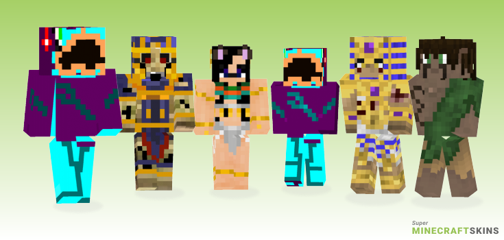 Ancient Minecraft Skins - Best Free Minecraft skins for Girls and Boys