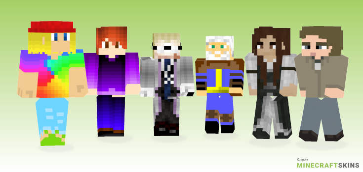 Anderson Minecraft Skins - Best Free Minecraft skins for Girls and Boys