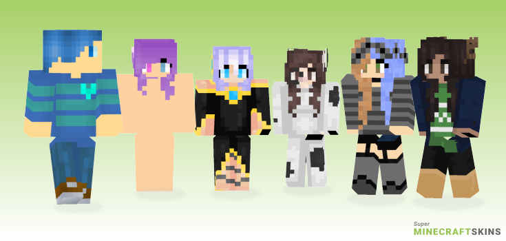 Anor Minecraft Skins - Best Free Minecraft skins for Girls and Boys