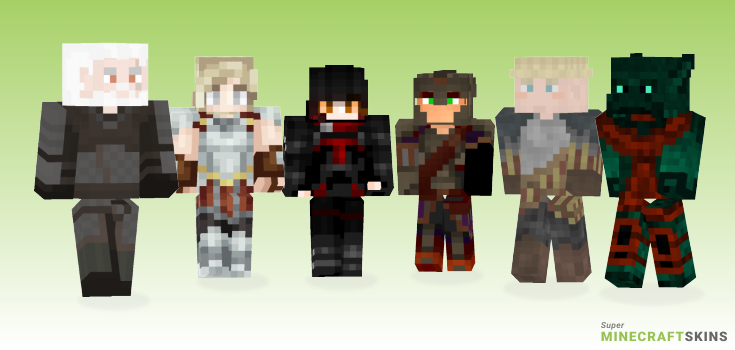 Armor Minecraft Skins - Best Free Minecraft skins for Girls and Boys