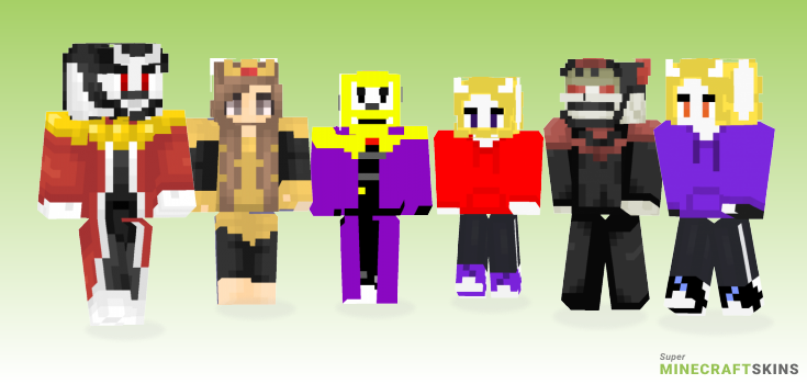 Asgore Minecraft Skins - Best Free Minecraft skins for Girls and Boys