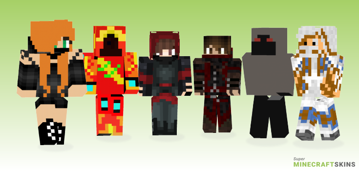 Assassin Minecraft Skins - Best Free Minecraft skins for Girls and Boys
