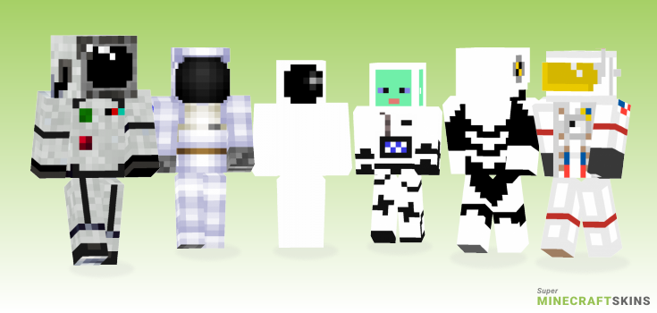 Astronaut Minecraft Skins - Best Free Minecraft skins for Girls and Boys