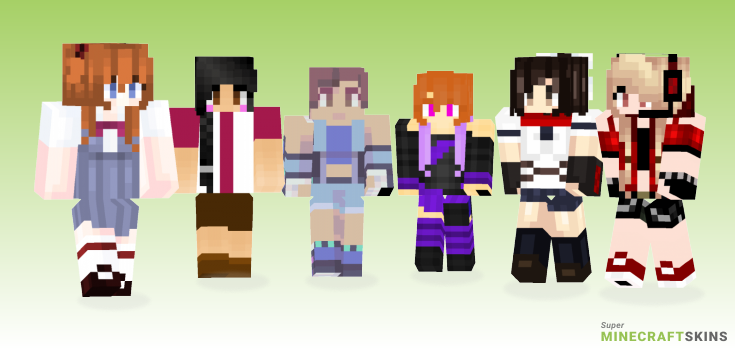 Asuka Minecraft Skins - Best Free Minecraft skins for Girls and Boys