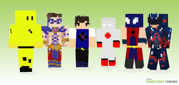 Atom Minecraft Skins - Best Free Minecraft skins for Girls and Boys