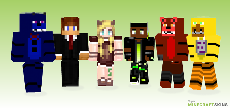 Auntic Minecraft Skins - Best Free Minecraft skins for Girls and Boys