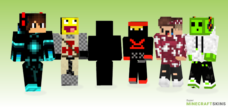 Awsome Minecraft Skins - Best Free Minecraft skins for Girls and Boys