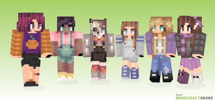 Bab Minecraft Skins - Best Free Minecraft skins for Girls and Boys