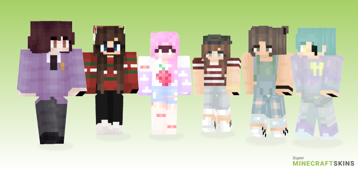 Babe Minecraft Skins - Best Free Minecraft skins for Girls and Boys
