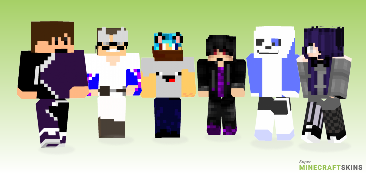 Bad Minecraft Skins - Best Free Minecraft skins for Girls and Boys