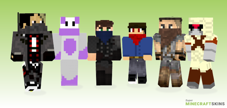 Bandit Minecraft Skins - Best Free Minecraft skins for Girls and Boys