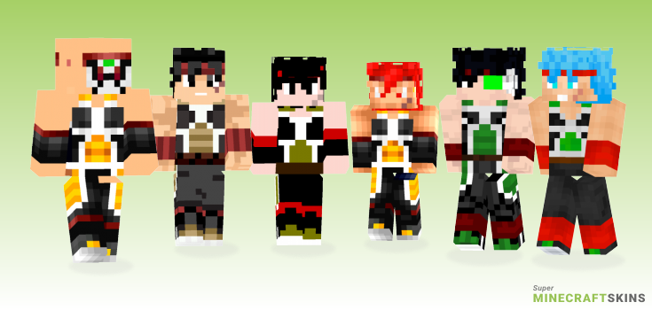 Bardock Minecraft Skins - Best Free Minecraft skins for Girls and Boys