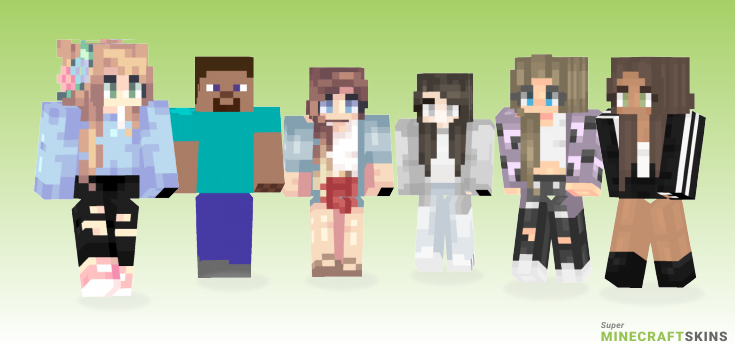 Basic Minecraft Skins - Best Free Minecraft skins for Girls and Boys