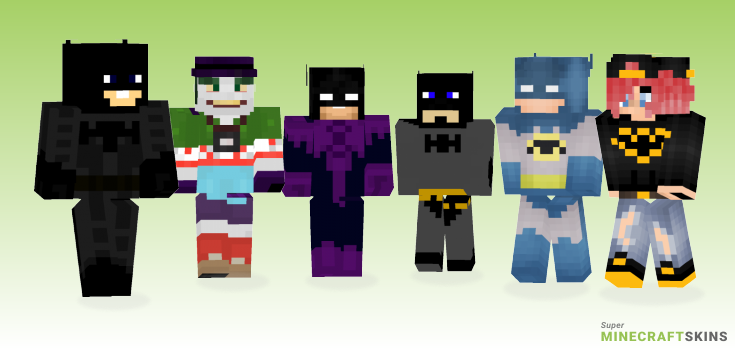 Batman Minecraft Skins - Best Free Minecraft skins for Girls and Boys