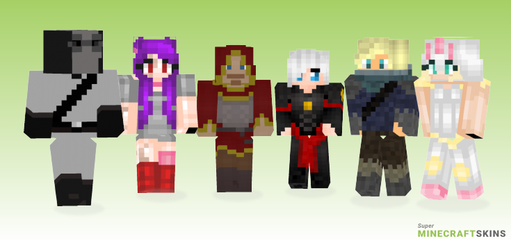 Battle Minecraft Skins - Best Free Minecraft skins for Girls and Boys