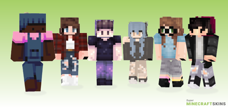 Beanie Minecraft Skins - Best Free Minecraft skins for Girls and Boys
