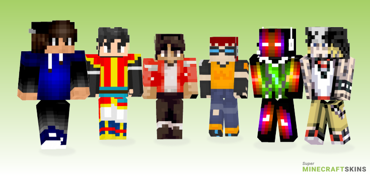 Beat Minecraft Skins - Best Free Minecraft skins for Girls and Boys