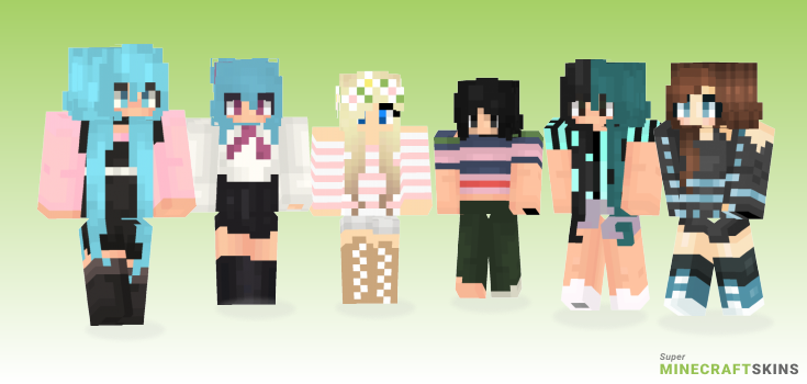 Beautiful Minecraft Skins - Best Free Minecraft skins for Girls and Boys