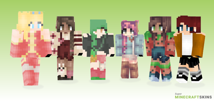 Berry Minecraft Skins - Best Free Minecraft skins for Girls and Boys