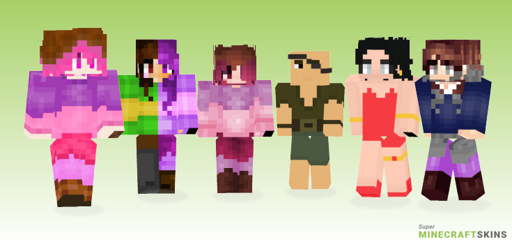 Betty Minecraft Skins - Best Free Minecraft skins for Girls and Boys