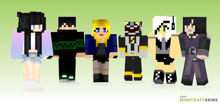 Black Minecraft Skins - Best Free Minecraft skins for Girls and Boys