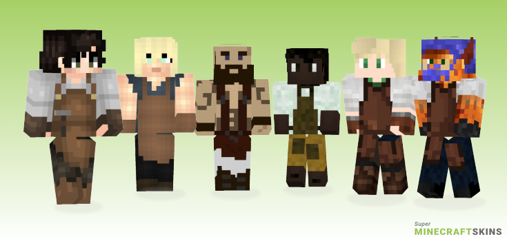 Blacksmith Minecraft Skins - Best Free Minecraft skins for Girls and Boys