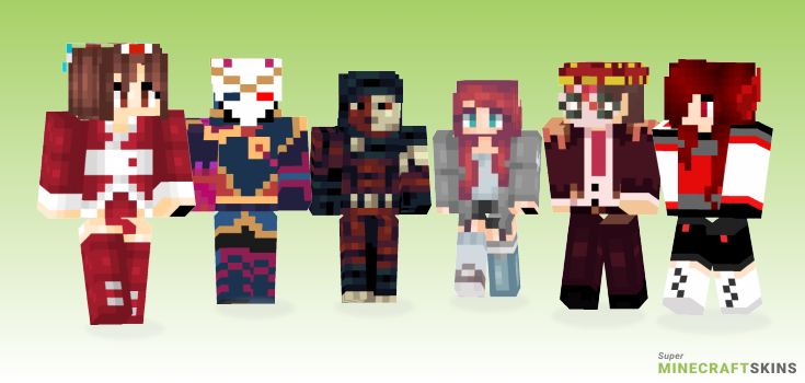 Blood moon Minecraft Skins - Best Free Minecraft skins for Girls and Boys