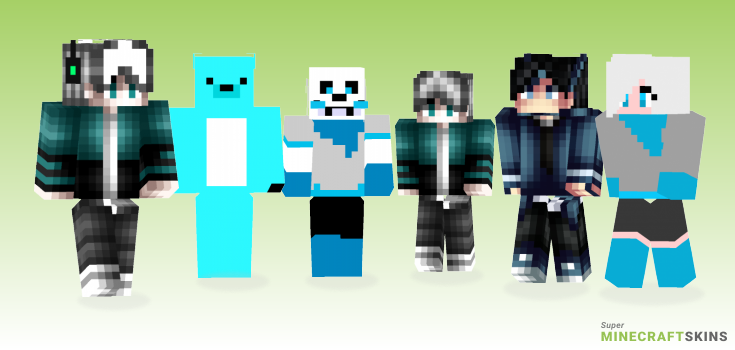 Blueberry Minecraft Skins - Best Free Minecraft skins for Girls and Boys