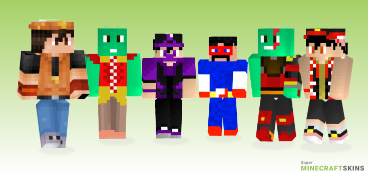 Boboiboy Minecraft Skins - Best Free Minecraft skins for Girls and Boys