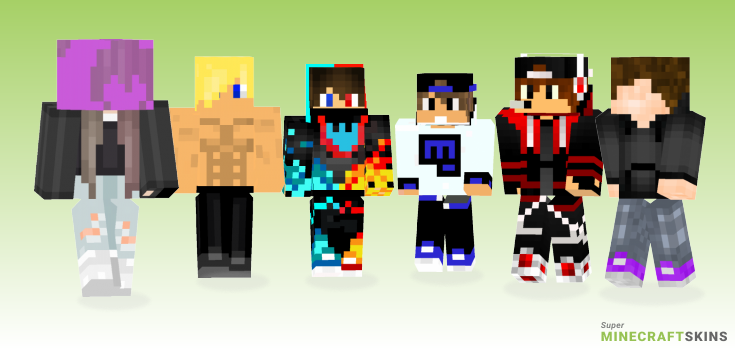 Boii Minecraft Skins - Best Free Minecraft skins for Girls and Boys