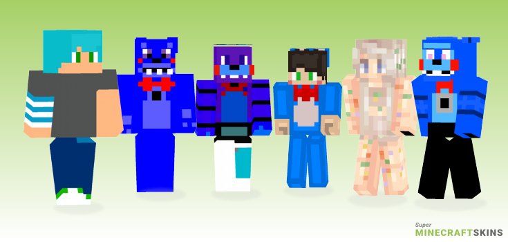 Bon Minecraft Skins - Best Free Minecraft skins for Girls and Boys